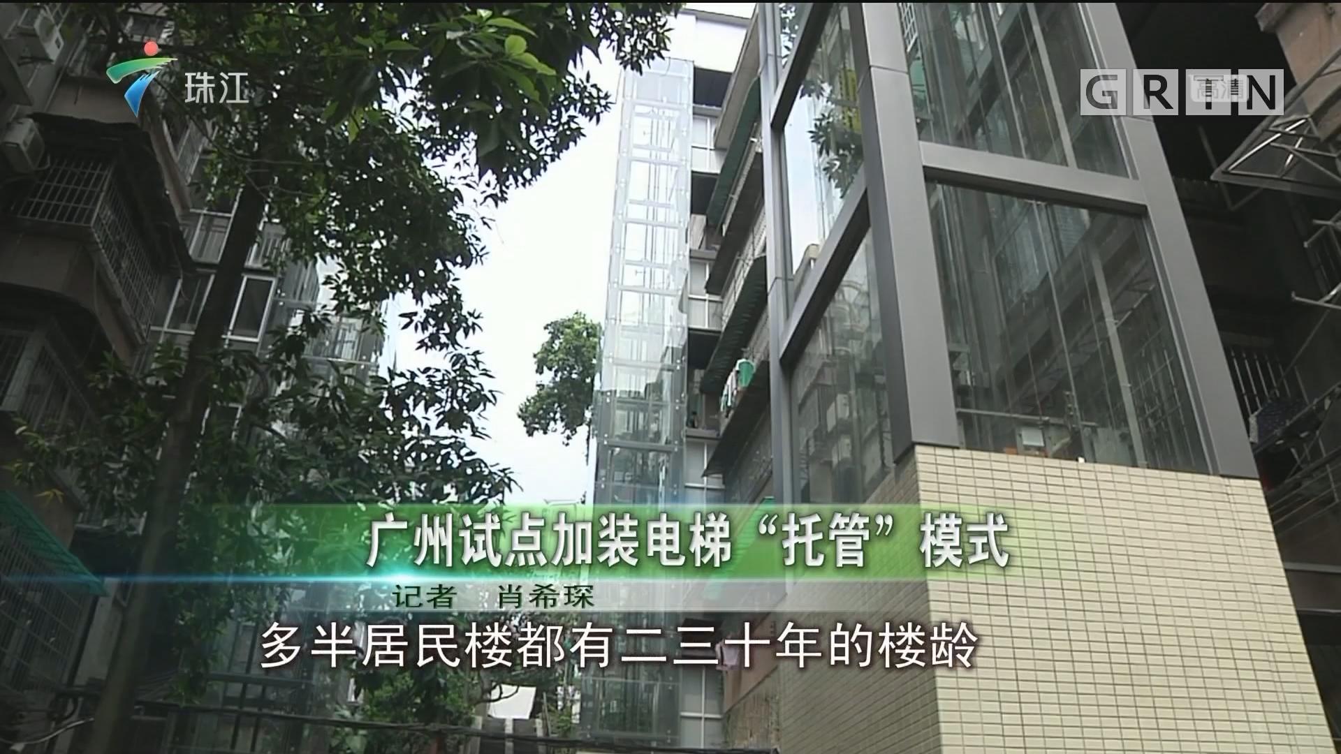 """广州试点加装电梯""""托管""""模式"""