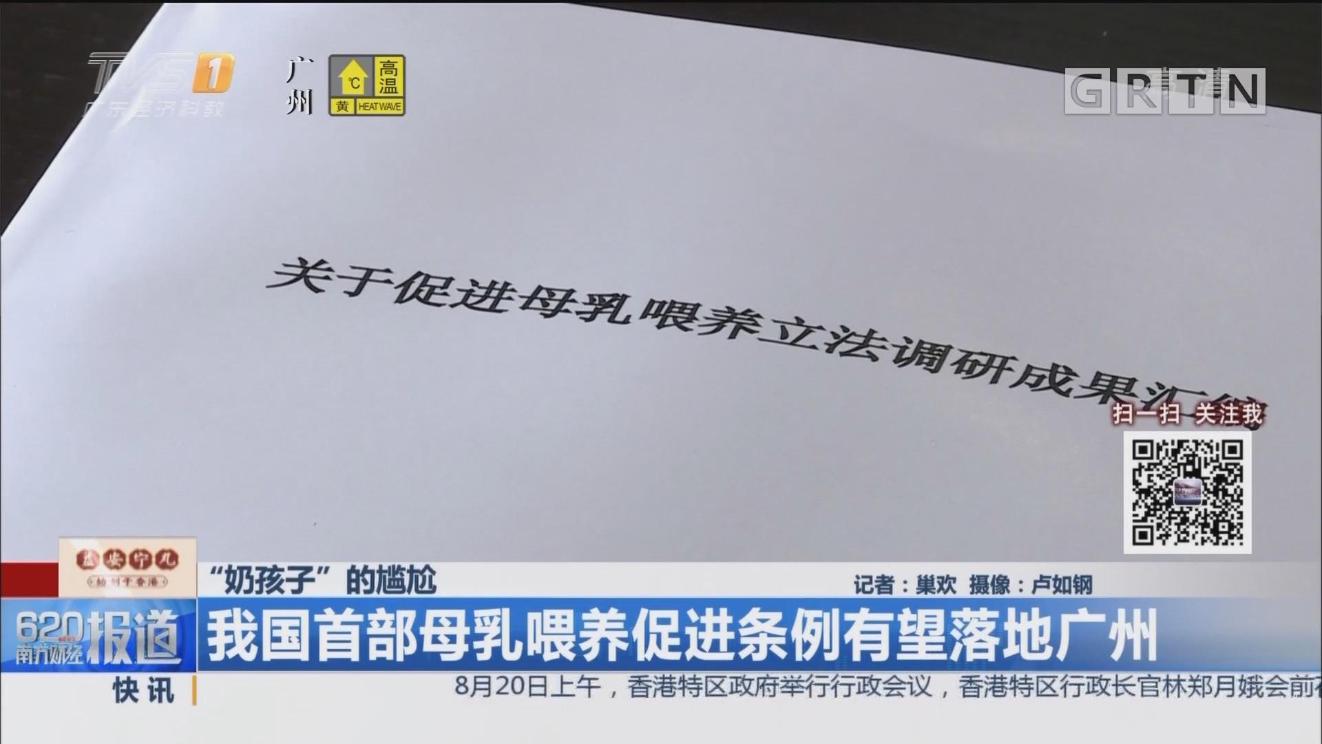 """""""奶孩子""""的尴尬:我国首部母乳喂养促进条例有望落地广州"""