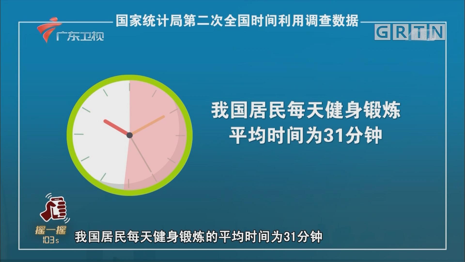 國家統計局第二次全國時間利用調查數據
