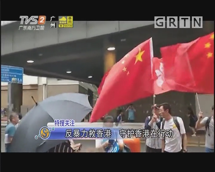 反暴力救香港 守护香港在行动