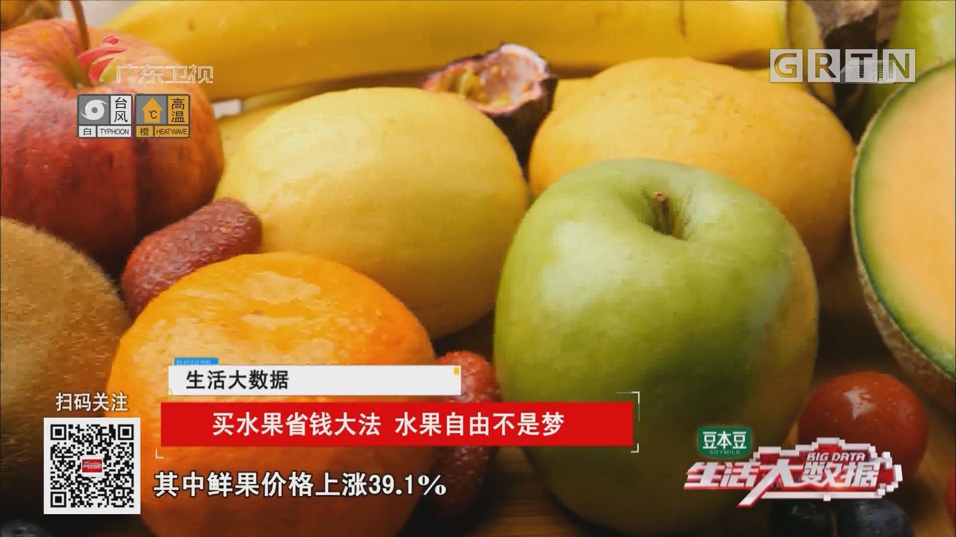 买水果省钱大法 水果自由不是梦