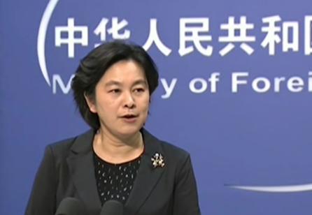 外交部: 外部势力不应插手香港事务