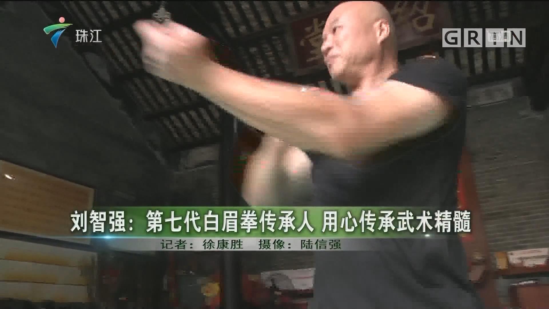 刘智强:第七代白眉拳传承人 用心传承武术精髓
