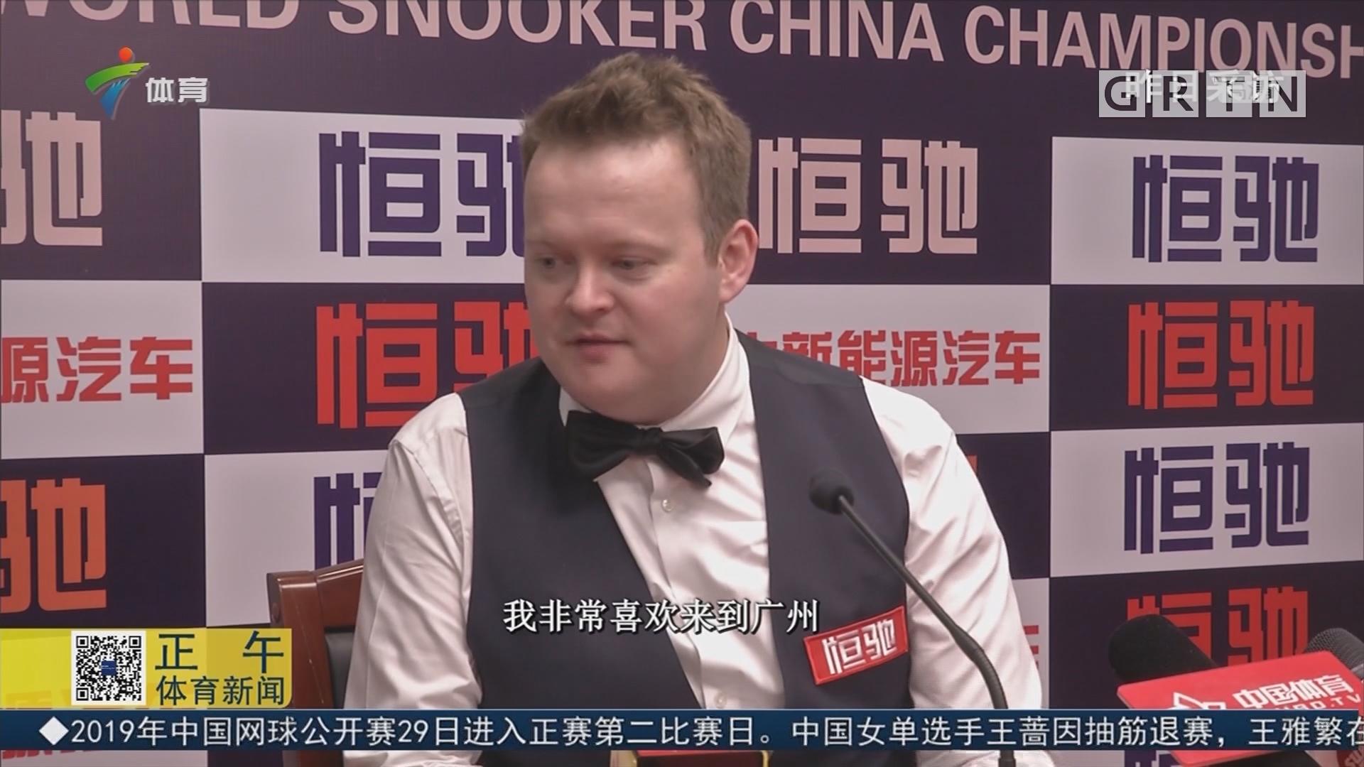 斯诺克中国锦标赛圆满结束 肖恩·墨菲捧杯