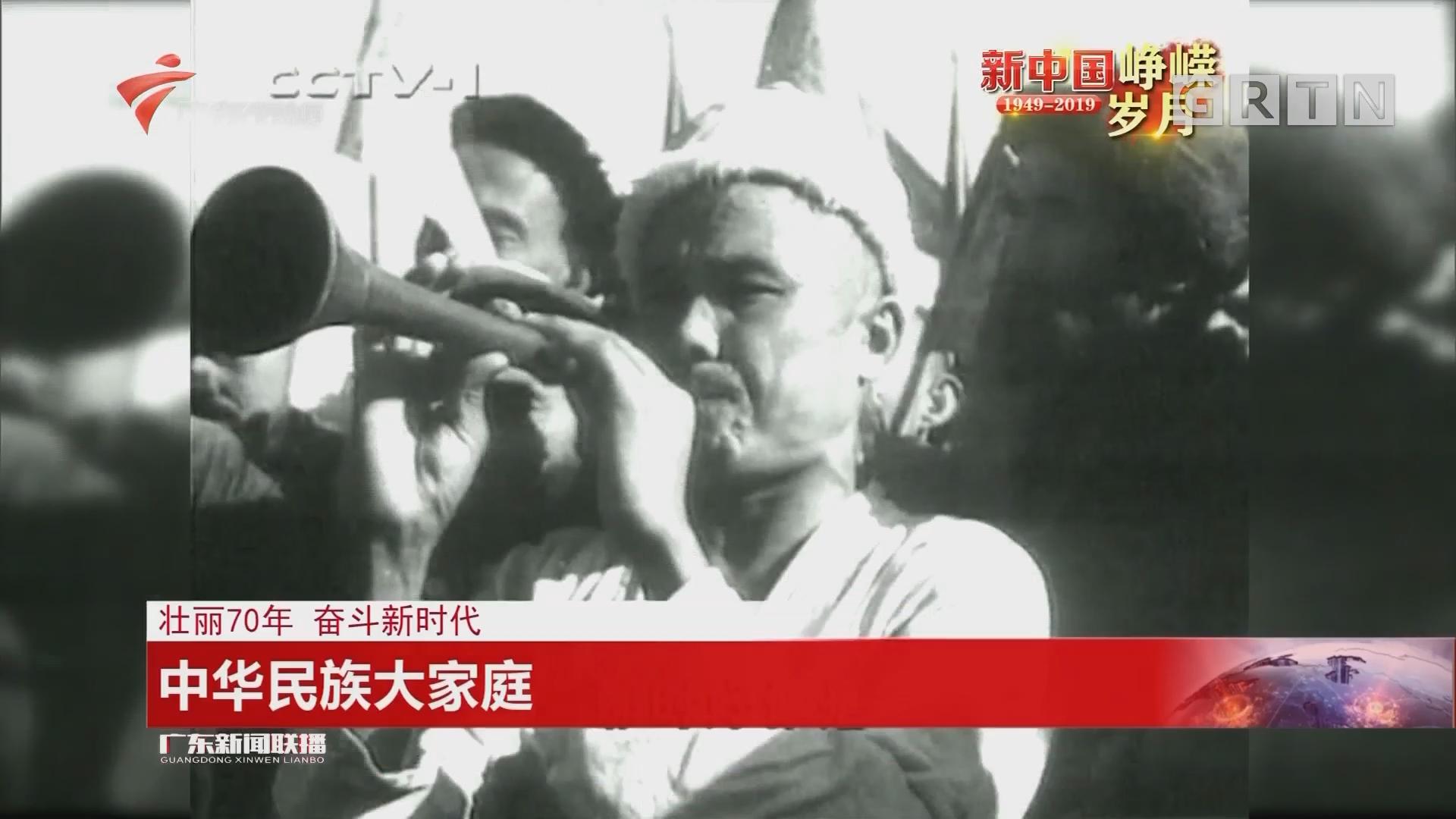 壮丽70年 奋斗新时代:中华民族大家庭