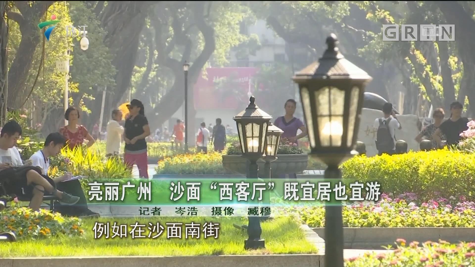 """亮丽广州 沙面""""西客厅""""既宜居也宜游"""
