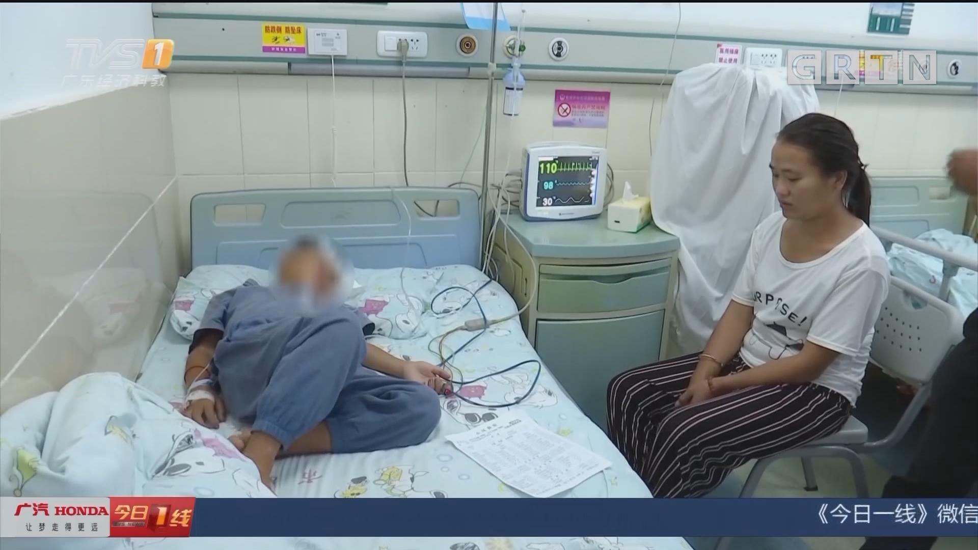 贵州:男童咳血两周 原来喉咙藏了蚂蟥
