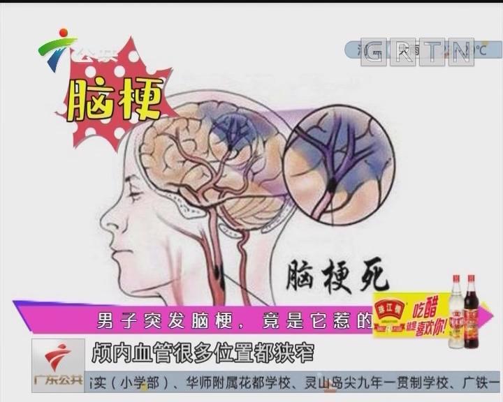 健康有料:男子突发脑梗,竟是它惹的祸!