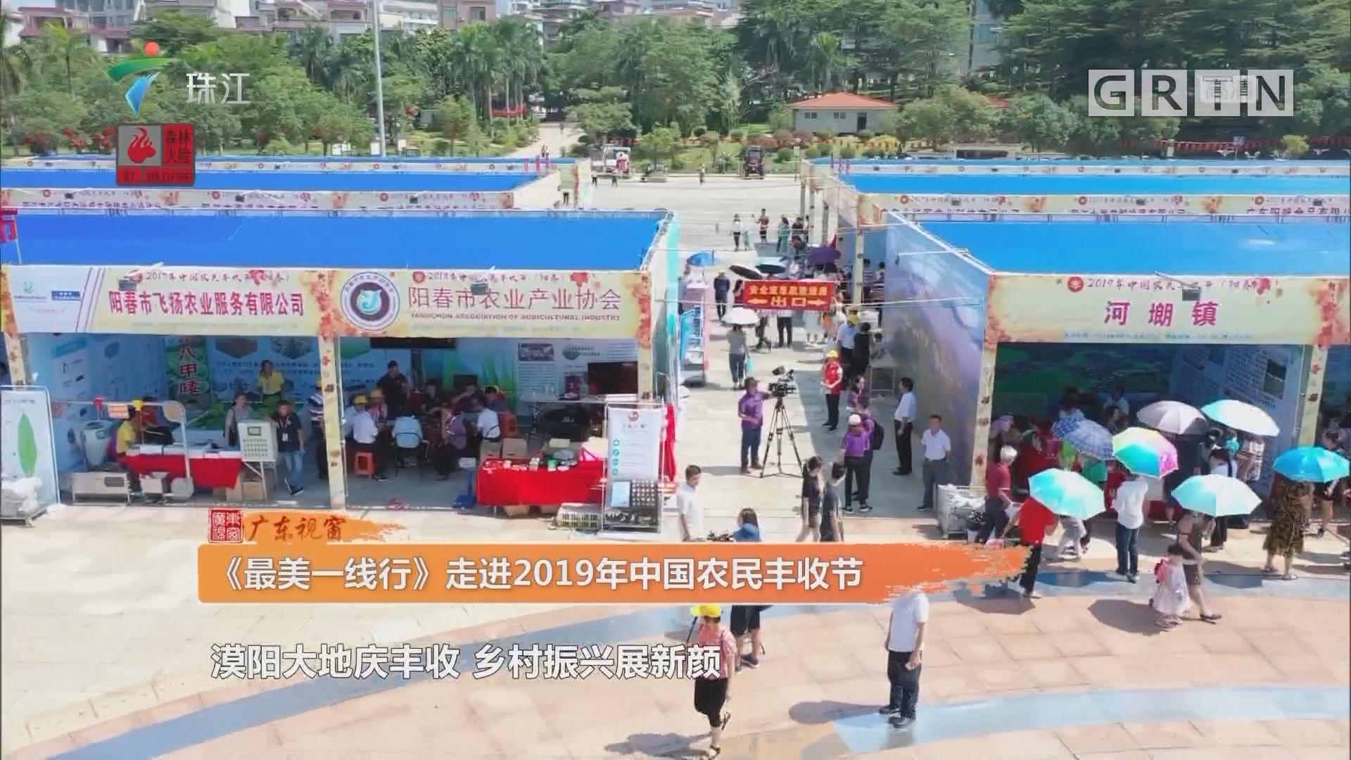 《最美一线行》走进2019年中国农民丰收节
