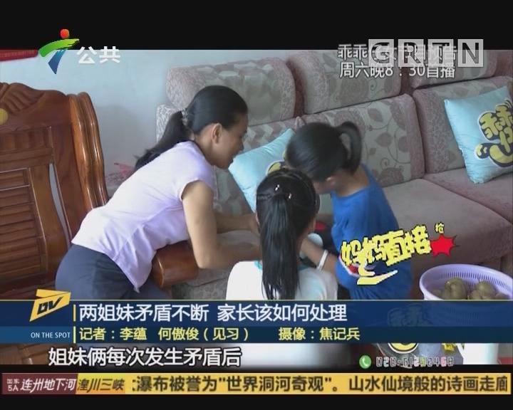 (DV现场)两姐妹矛盾不断 家长该如何处理