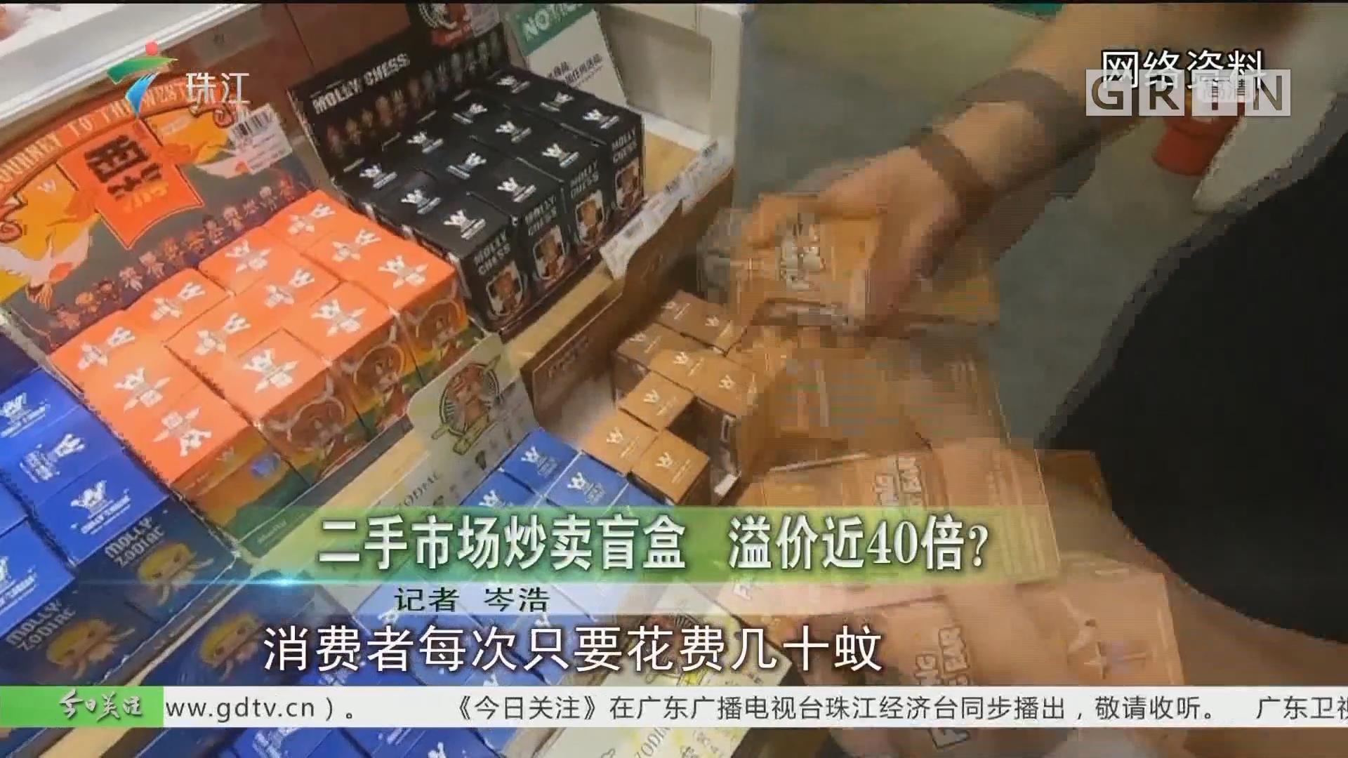 二手市场炒卖盲盒 溢价近40倍?