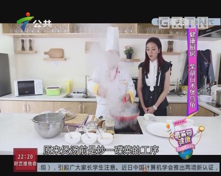 健康厨房:柴胡白术煲乌龟