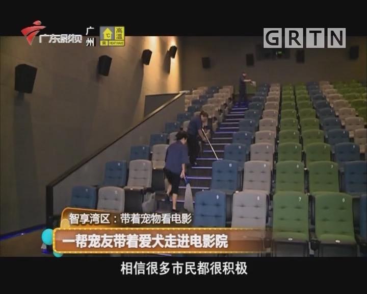 智享湾区:一帮宠友带着爱犬走进电影院