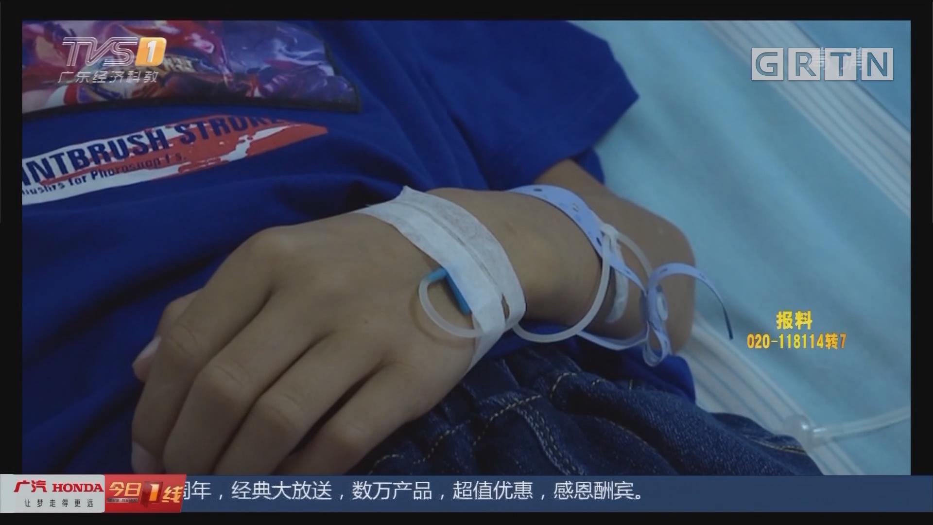 广西贺州:螺壳吸进气管不自知 连续发烧近两月