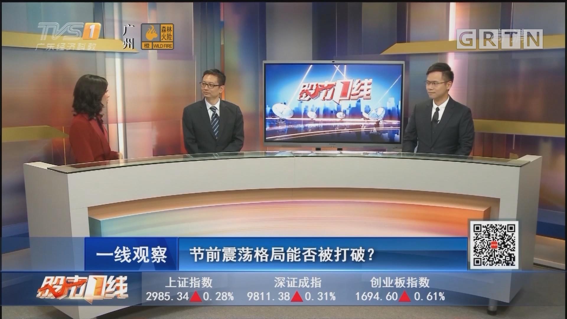[HD][2019-09-24]股市一线:节前震荡格局能否被打破?