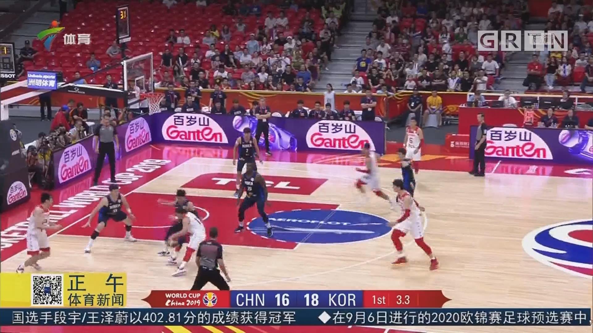 关键时刻体现血腥 中国男篮险胜韩国