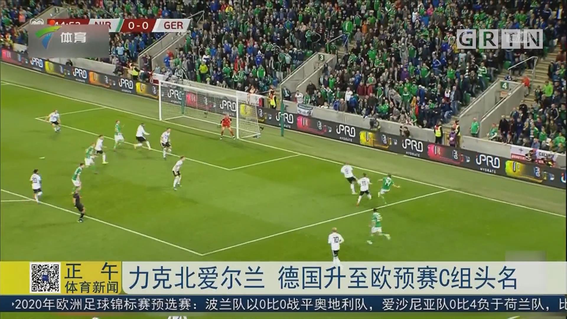 力克北爱尔兰 德国升至欧预赛C组头名