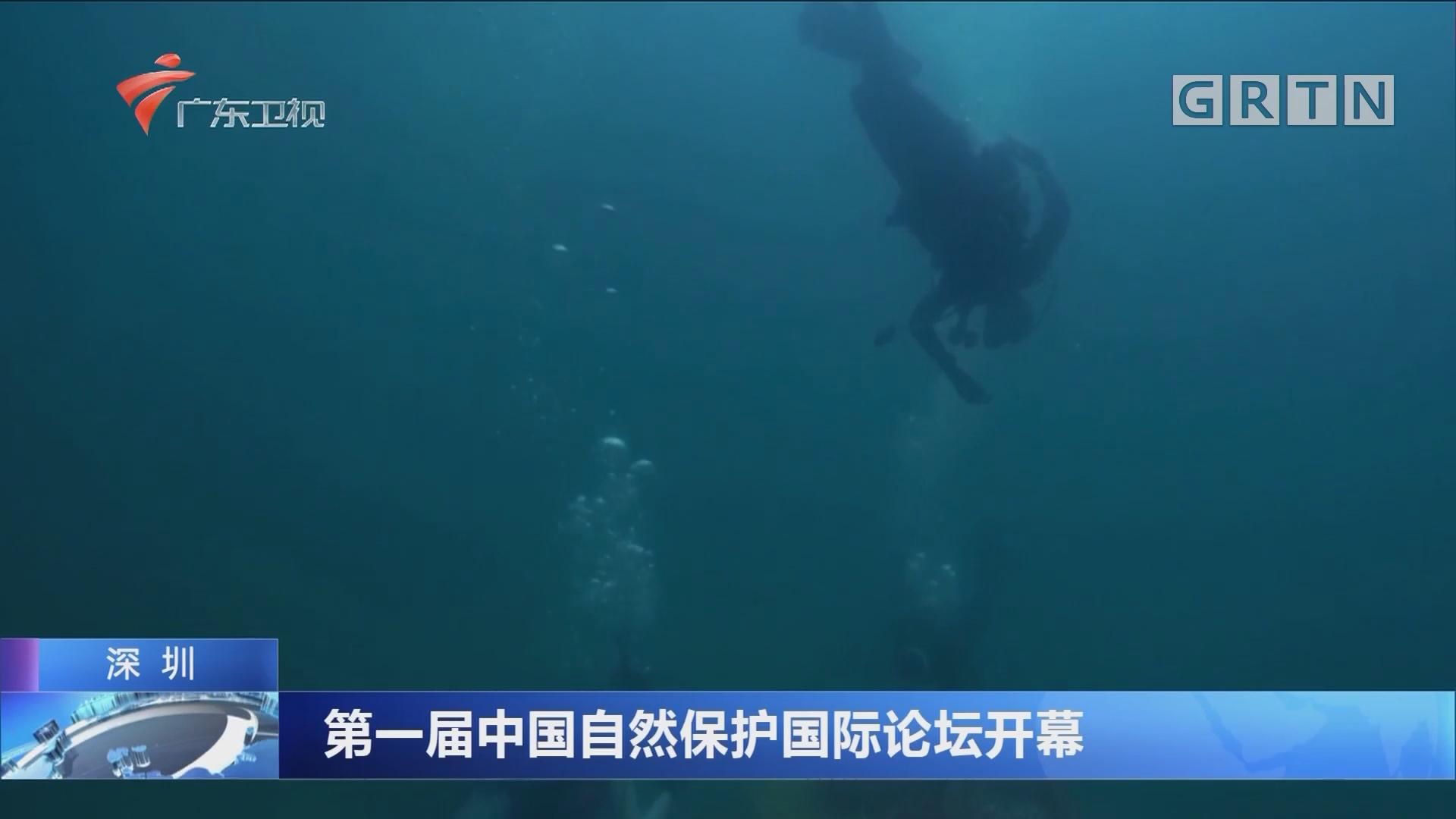 深圳:第一届中国自然保护国际论坛开幕