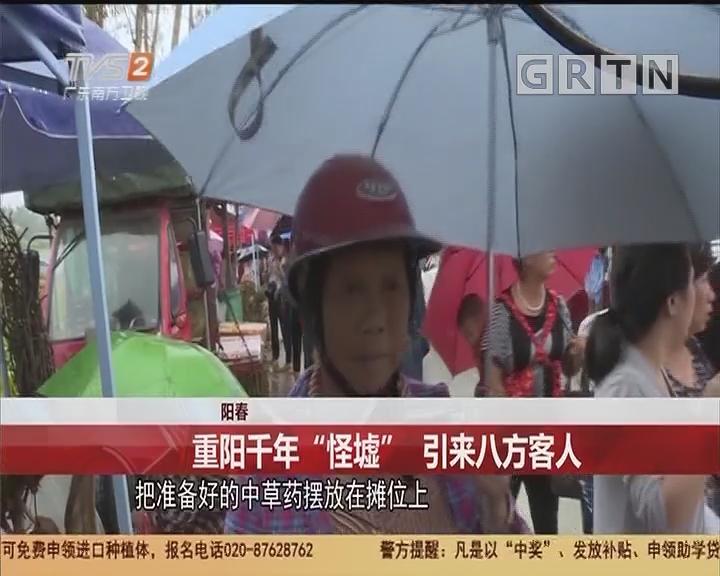 """阳春:重阳千年""""怪墟""""引来八方客人"""