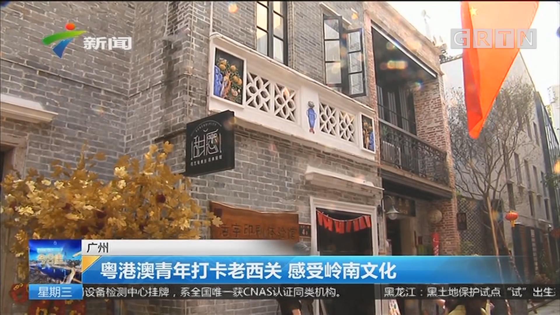 广州:粤港澳青年打卡老西关 感受岭南文化