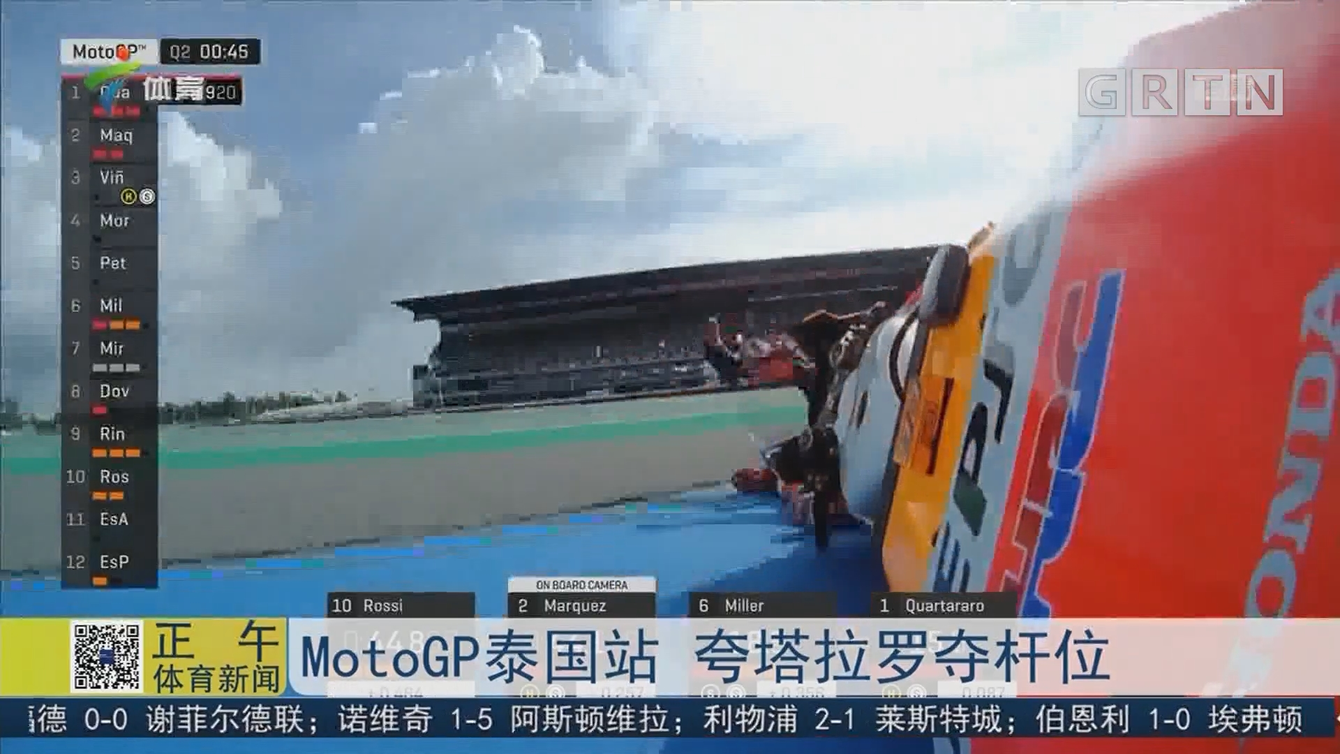 MotoGP泰国站 夸塔拉罗夺杆位