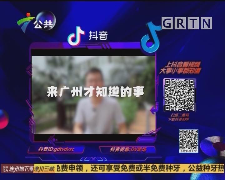 (DV现场)抖音随手拍:广州见闻