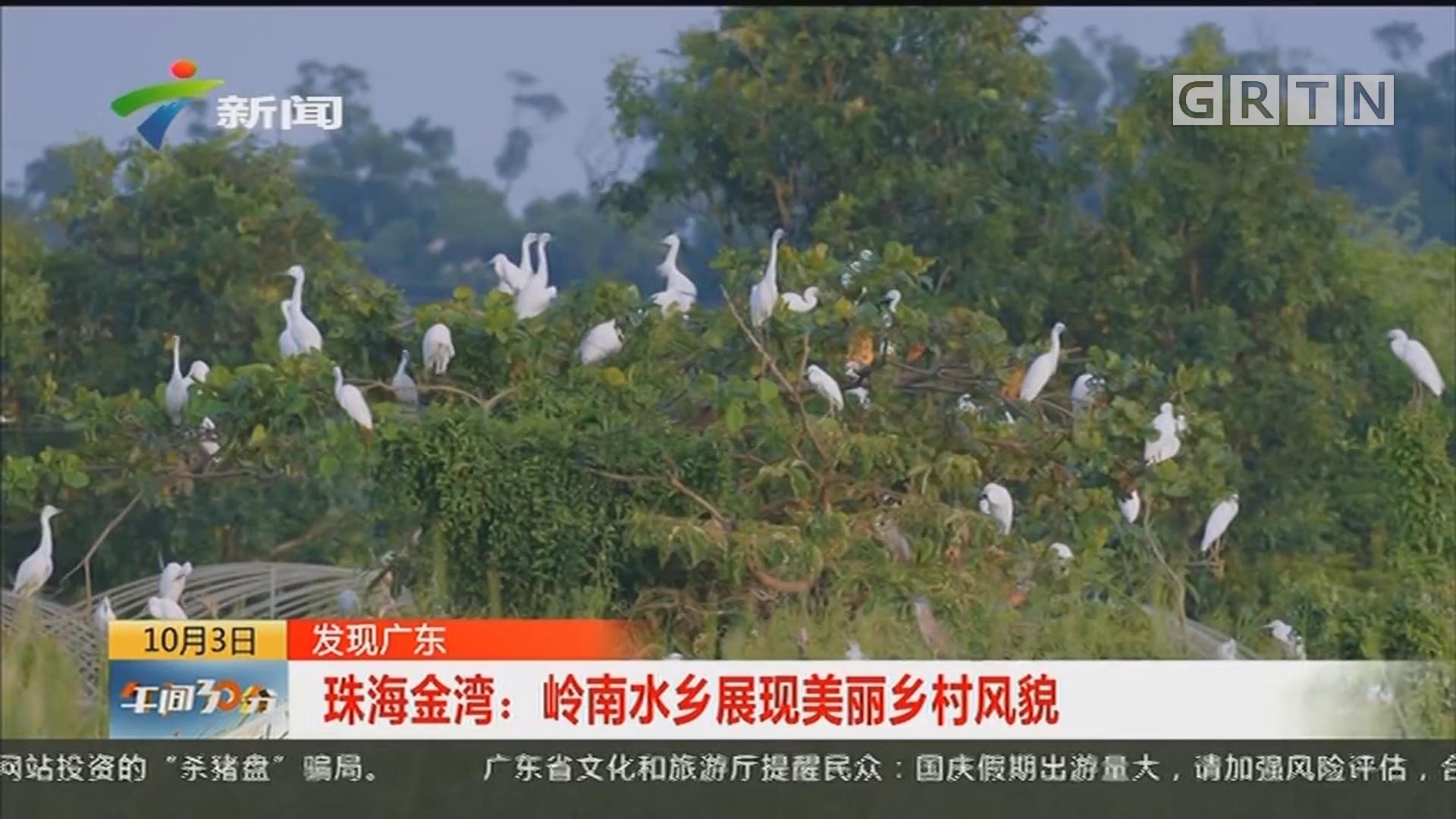 发现广东 珠海金湾:岭南水乡展现美丽乡村风貌