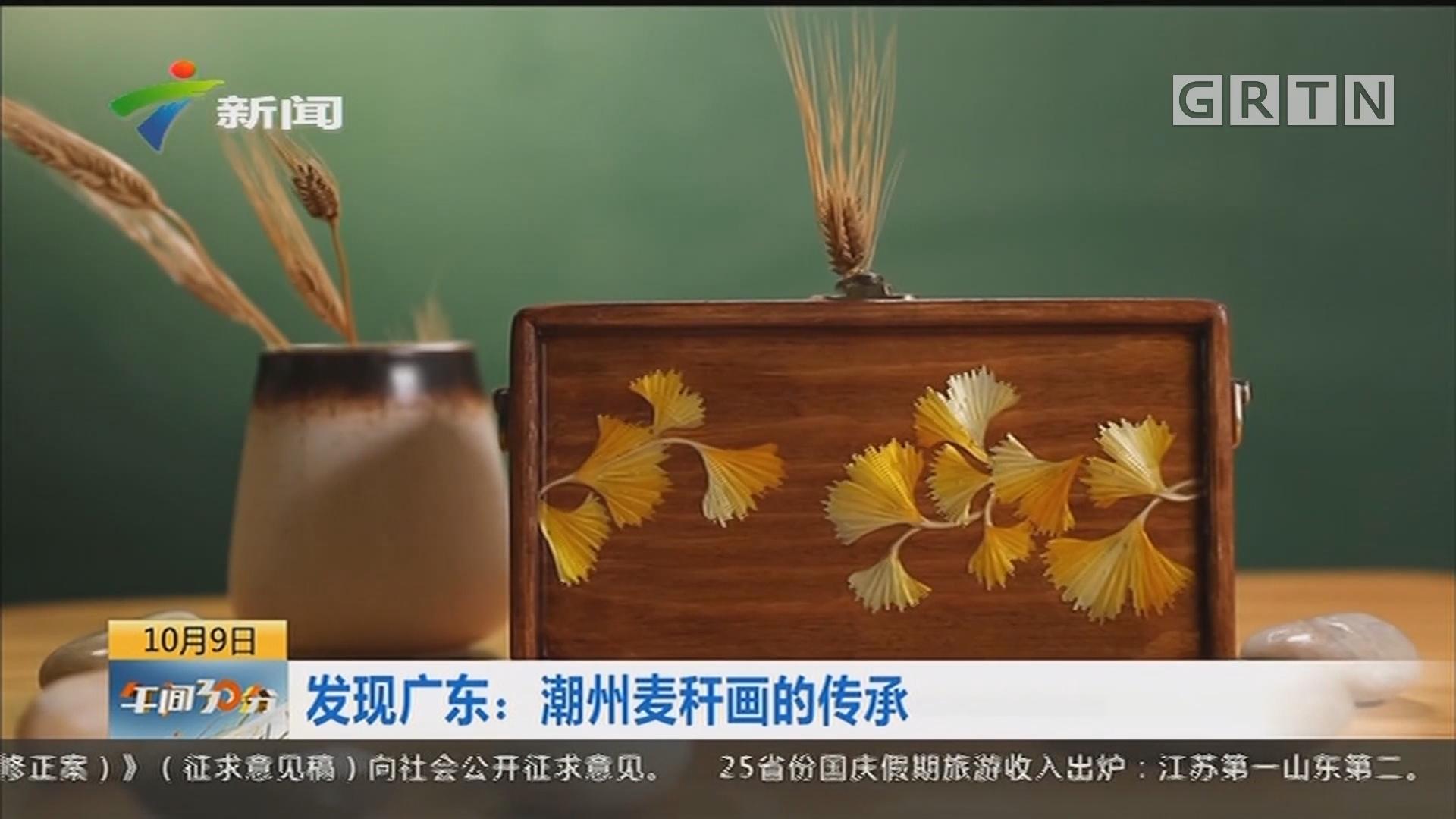 发现广东:潮州麦秆画的传承