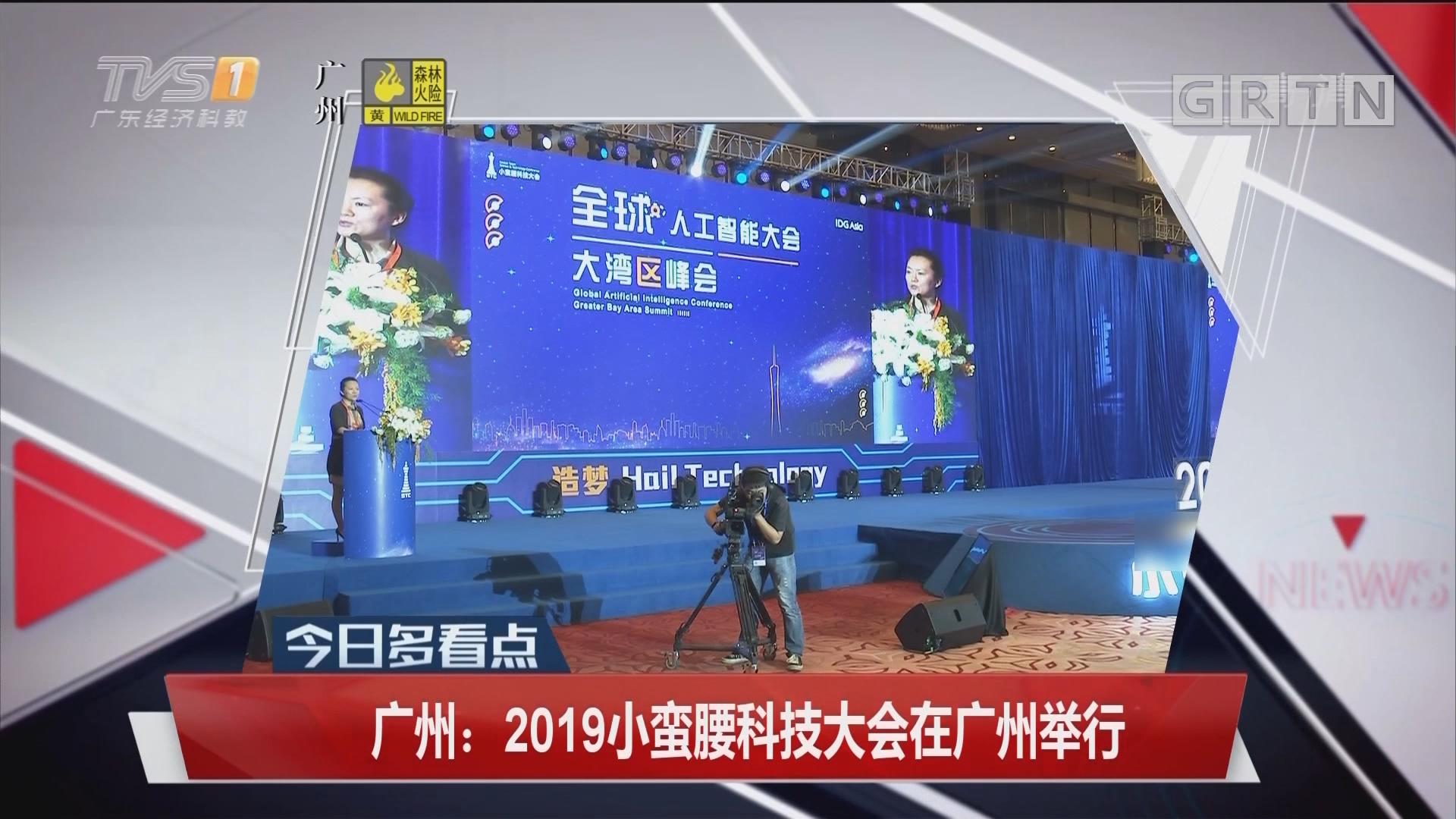 广州:2019小蛮腰科技大会在广州举行