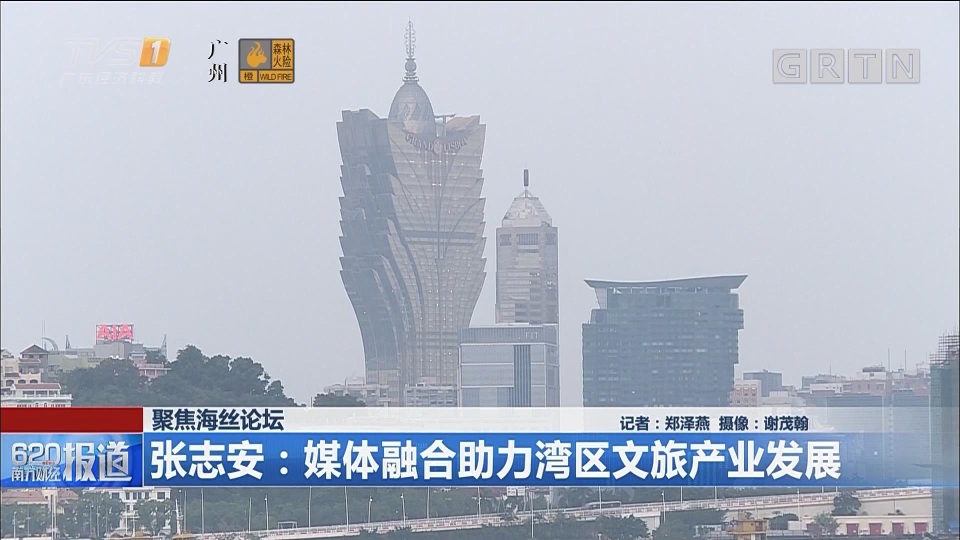 聚焦海丝论坛 张志安:媒体融合助力湾区文旅产业发展