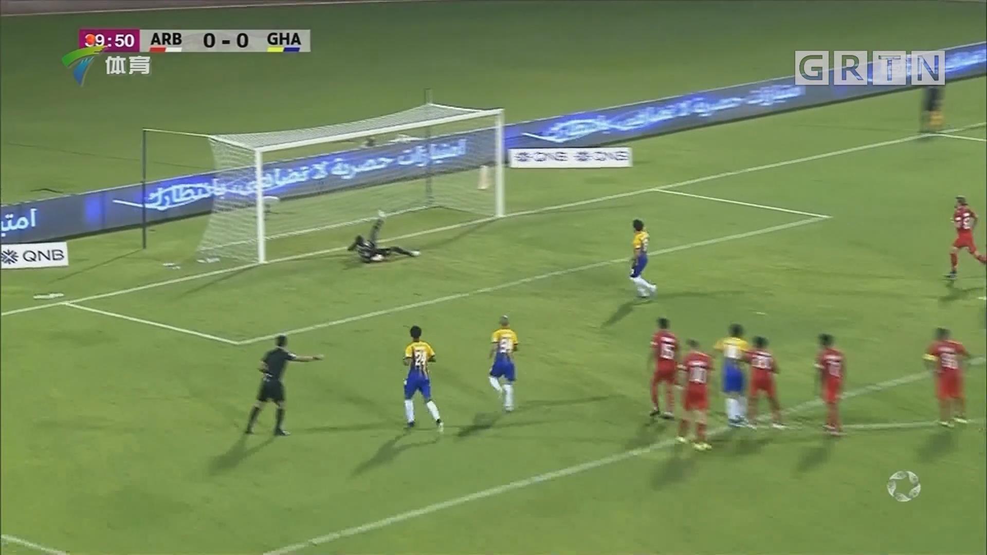 卡塔尔联赛 加拉法战胜阿拉比