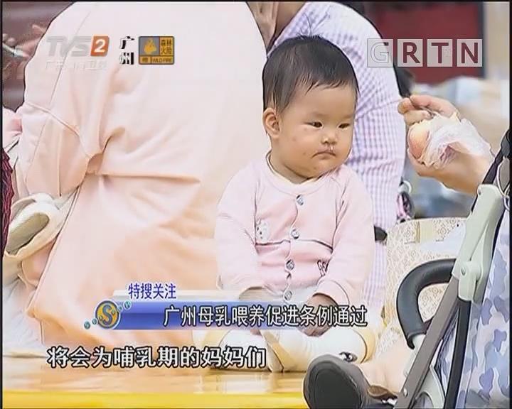 广州母乳喂养促进条例通过