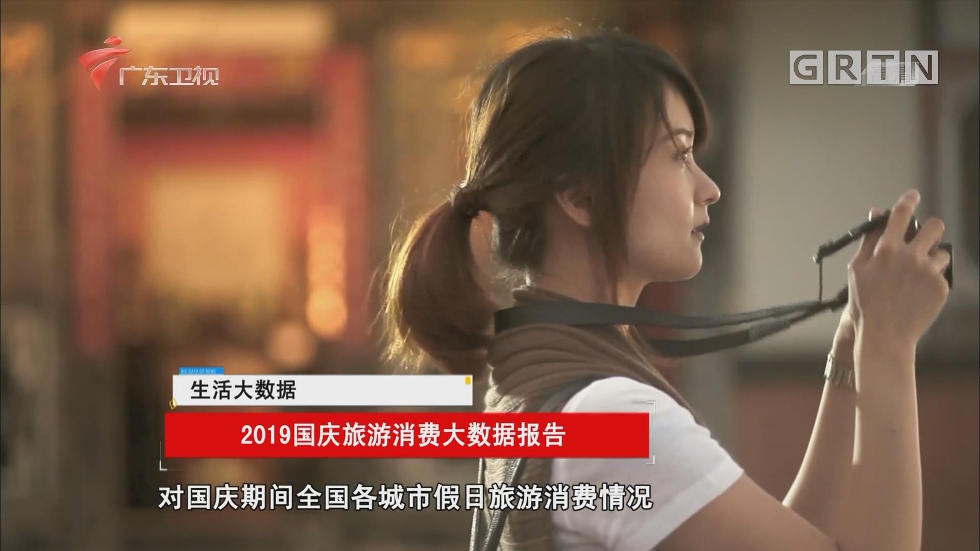2019国庆旅游消费大数据报告