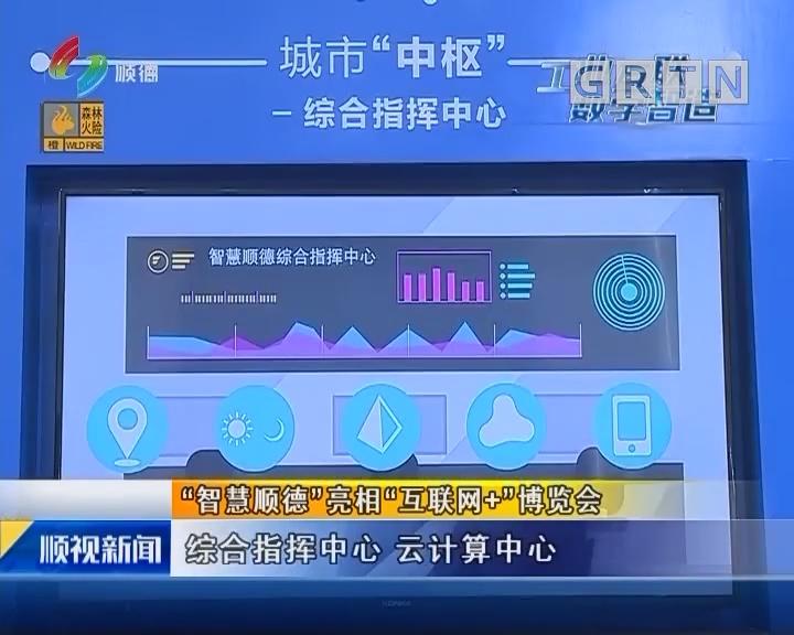 """""""智慧顺德""""亮相""""互联网+""""博览会"""
