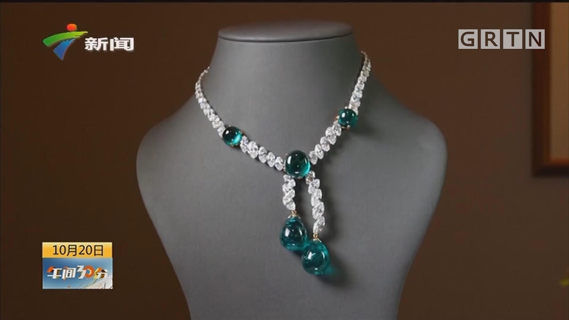 英国伦敦苏富比珠宝拍卖会预展 璀璨奢华看过瘾
