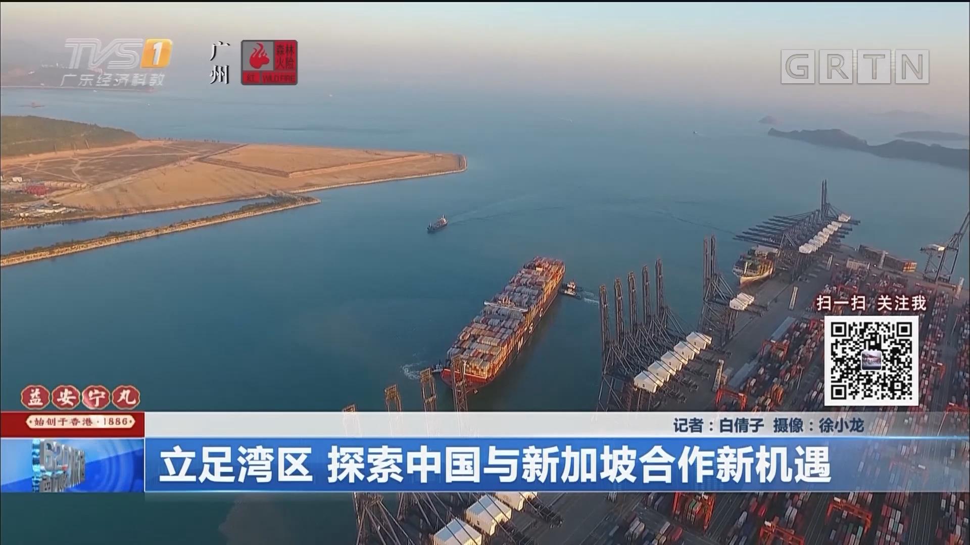立足灣區 探索中國與新加坡合作新機遇