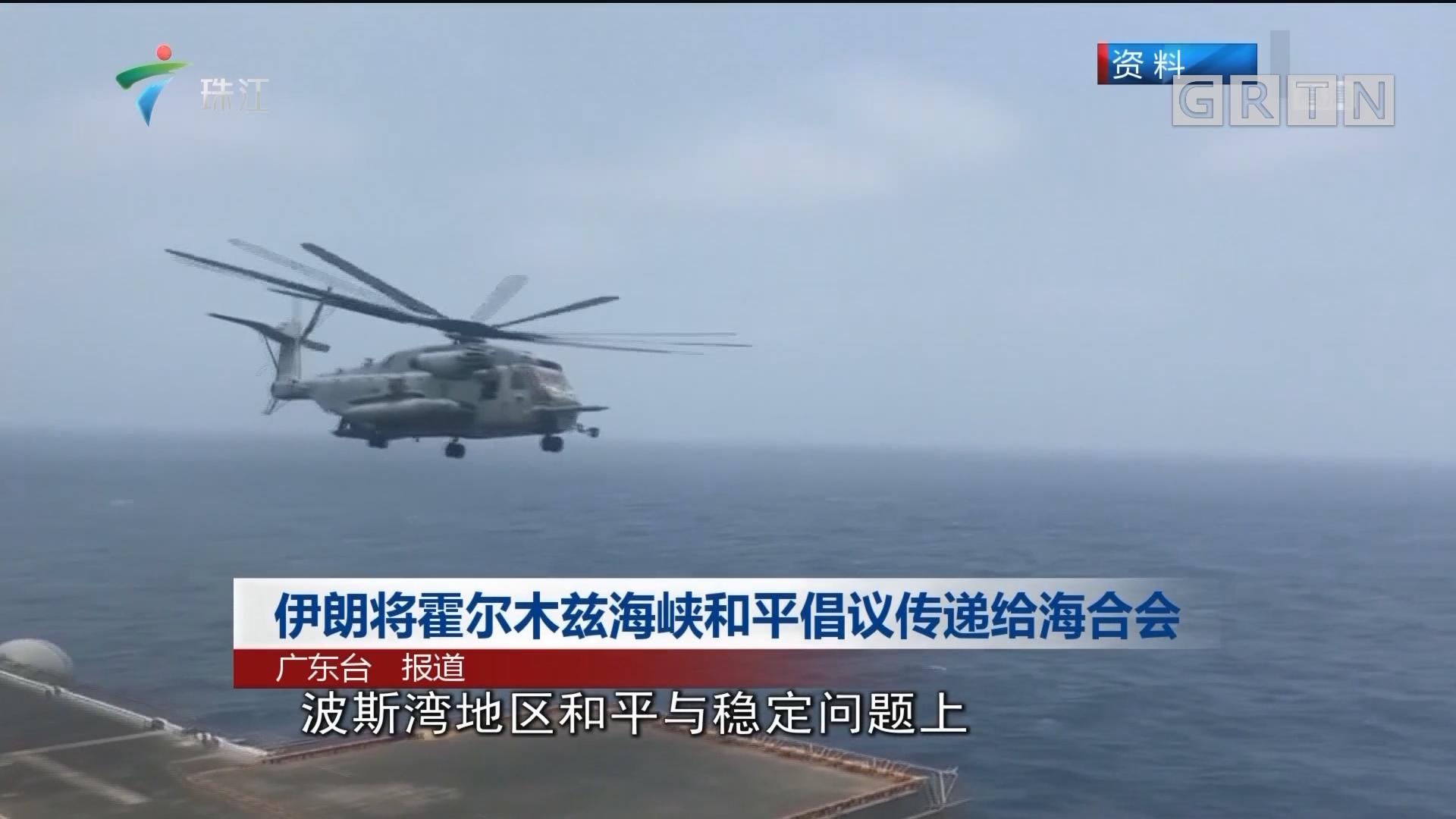 伊朗将霍尔木兹海峡和平倡议传递给海合会