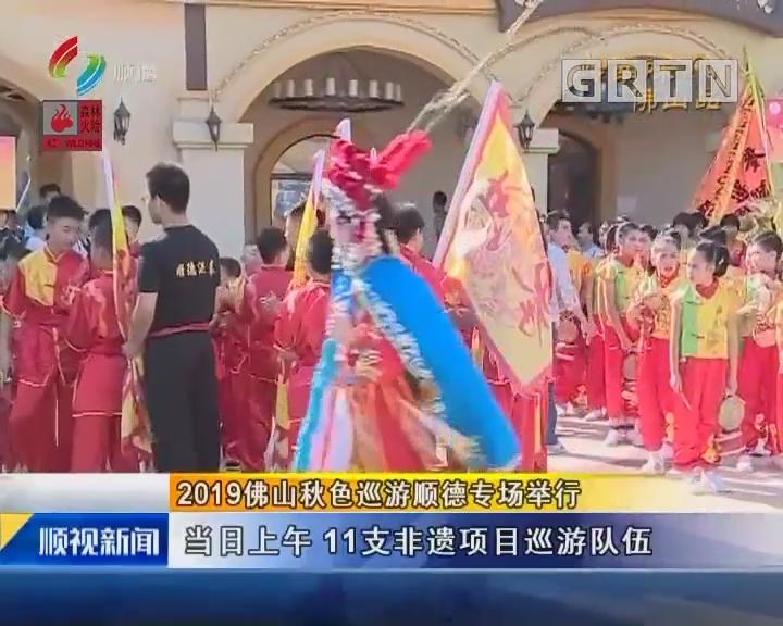 2019佛山秋色巡游顺德专场举行