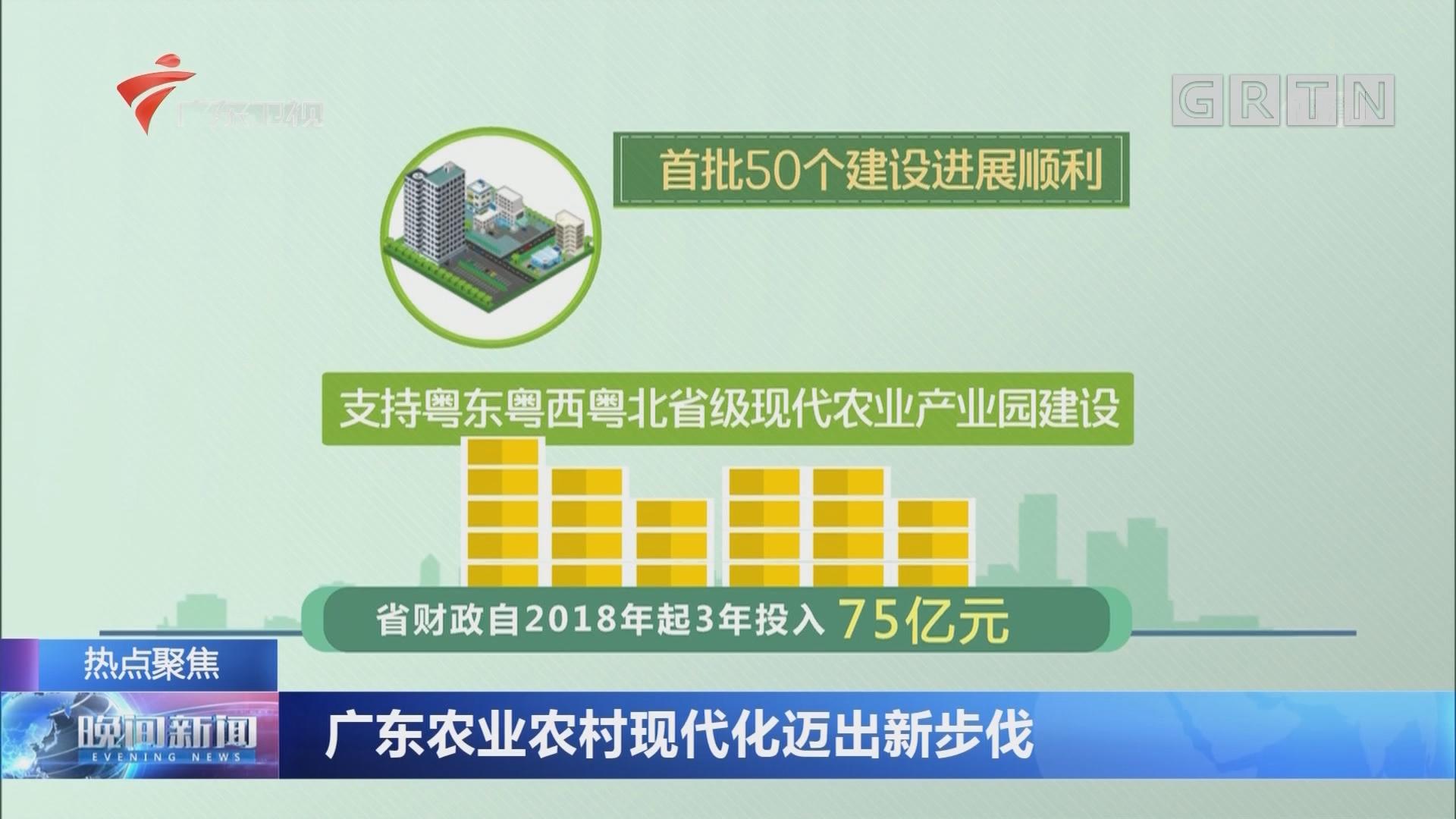 广东农业农村现代化迈出新步伐