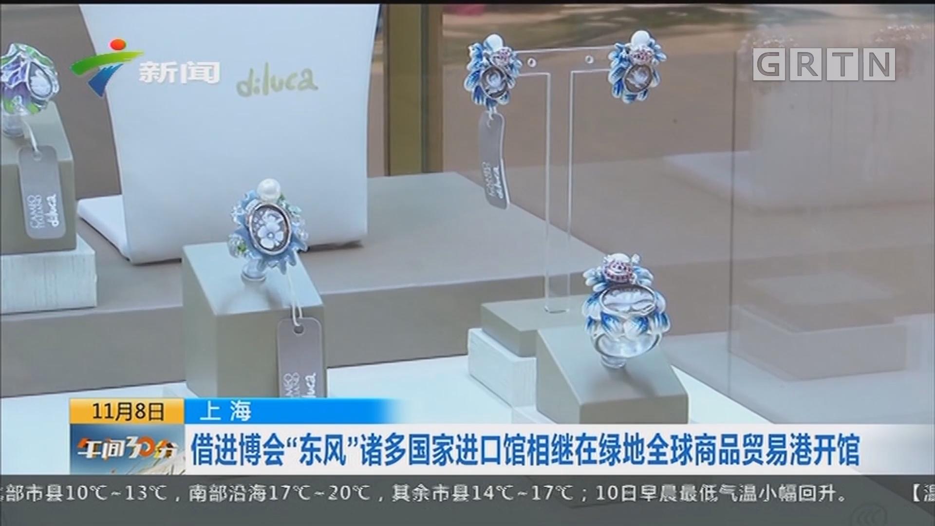 """上海:借进博会""""东风""""诸多国家进口馆相继在绿地全球商品贸易港开馆"""