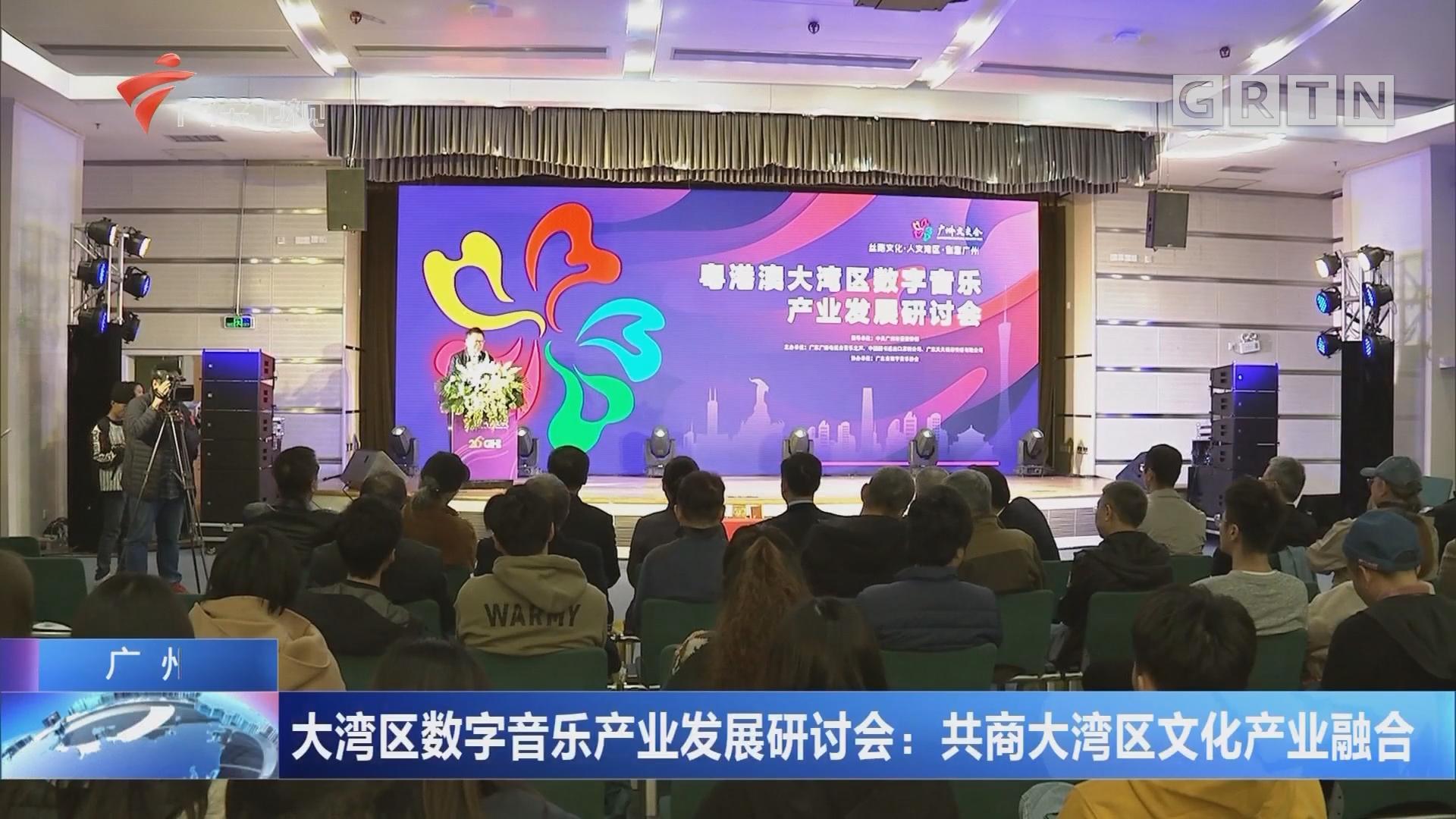 广州 大湾区数字音乐产业发展研讨会:共商大湾区文化产业融合