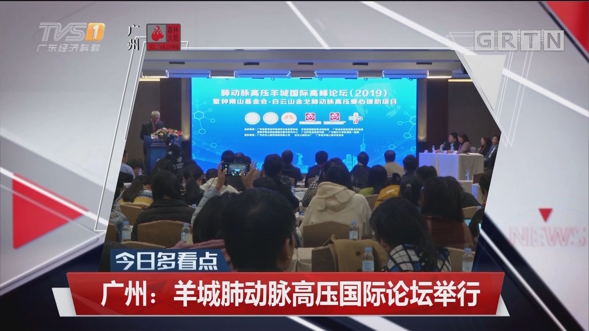 广州:羊城肺动脉高压国际论坛举行