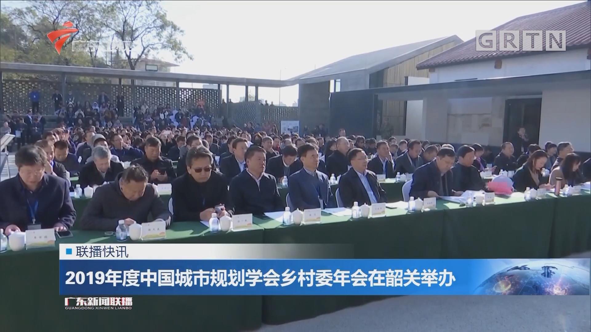 2019年度中国城市规划学会乡村委年会在韶关举办