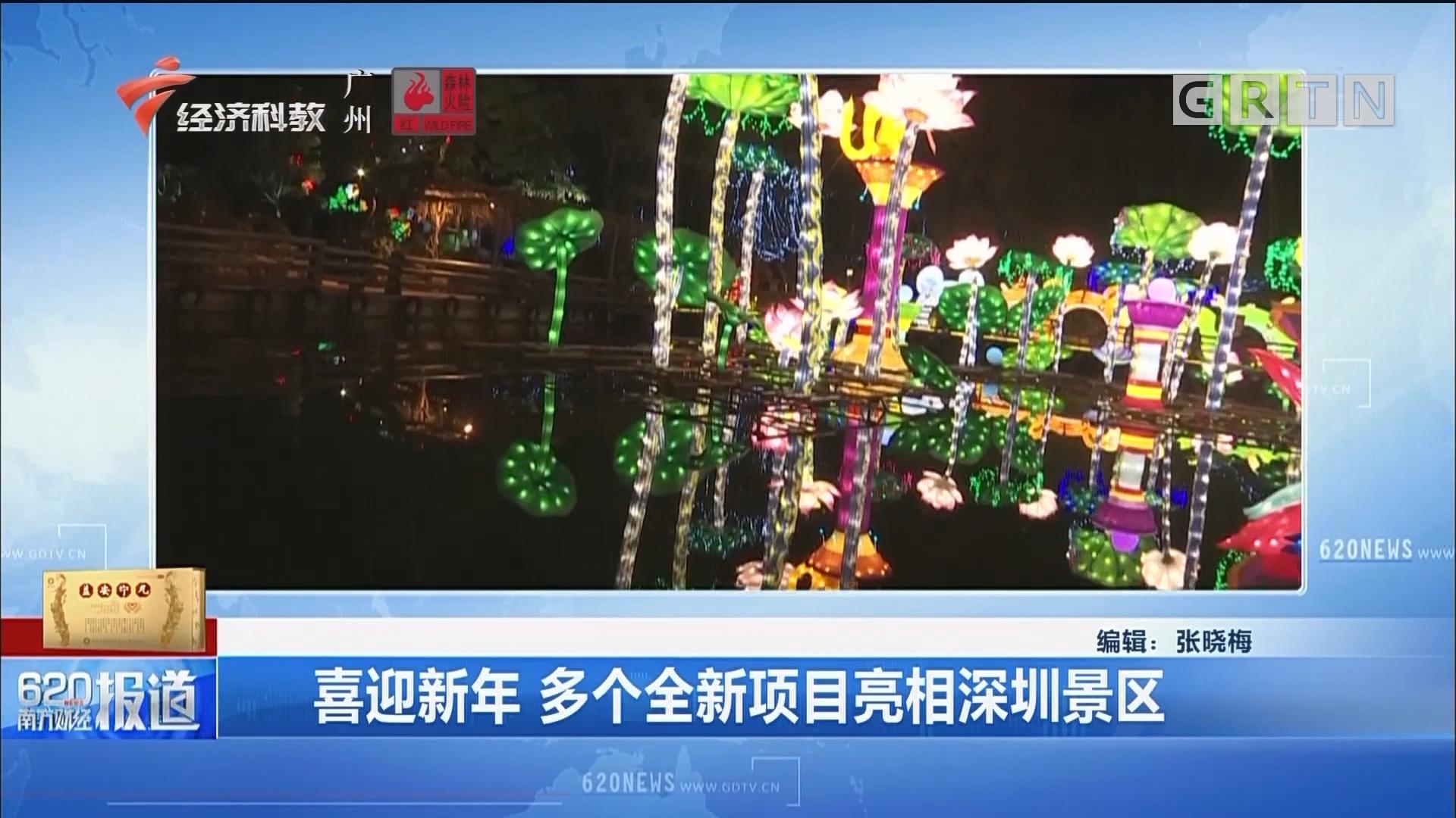 喜迎新年 多個全新項目亮相深圳景區