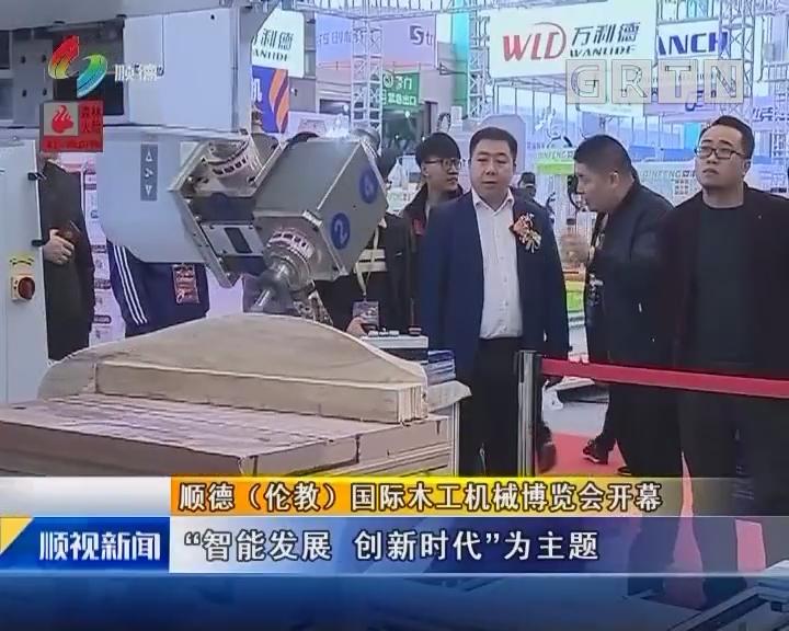顺德(伦教)国际木工机械博览会开幕