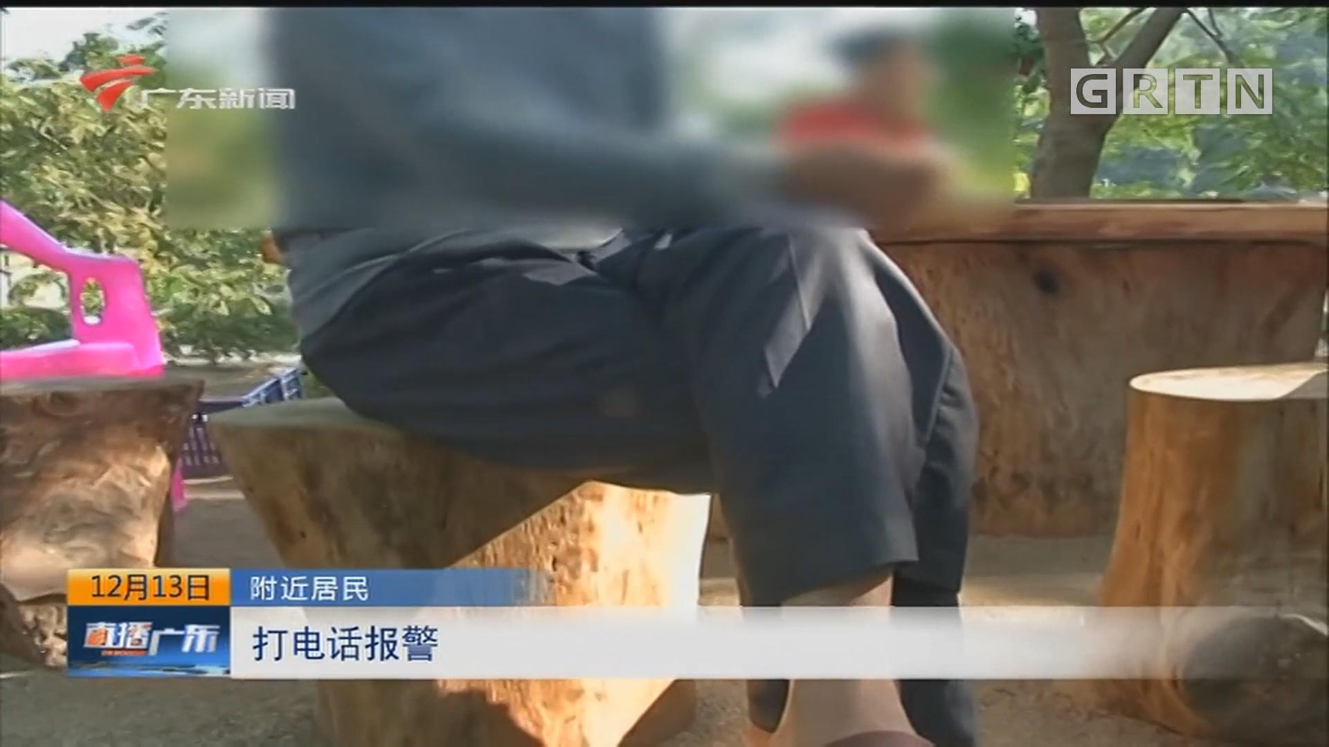 揭阳:汽车起火燃烧 司机不幸遇难