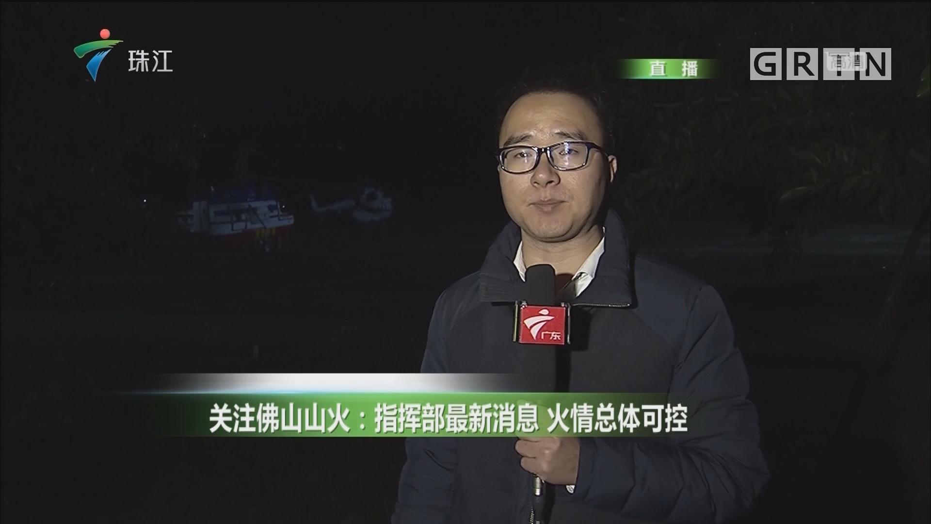 关注佛山山火:指挥部最新消息 火情总体可控