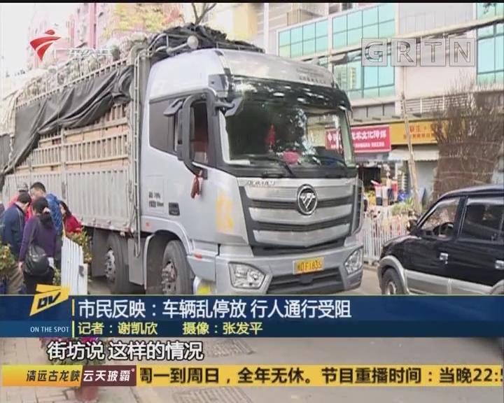 (DV现场)市民反映:车辆乱停放 行人通行受阻