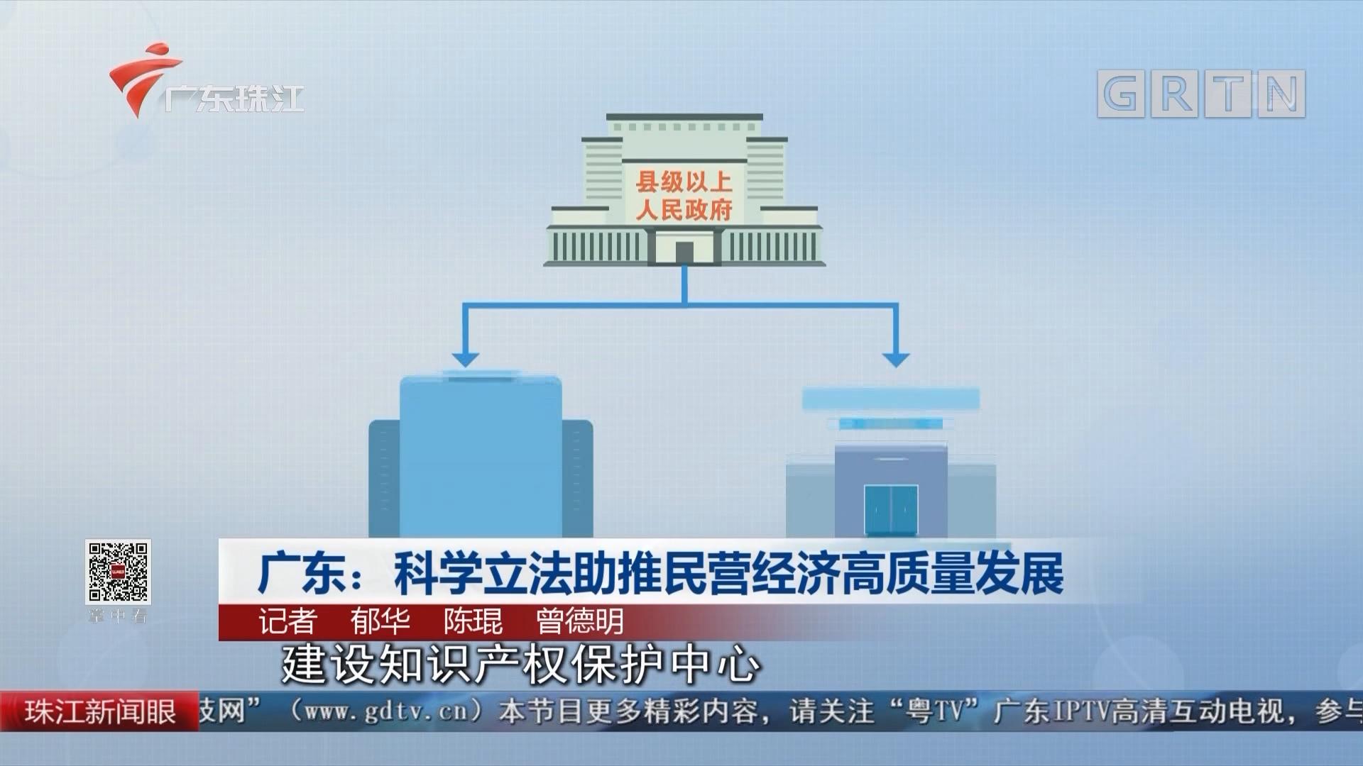 广东:科学立法助推民营经济高质量发展