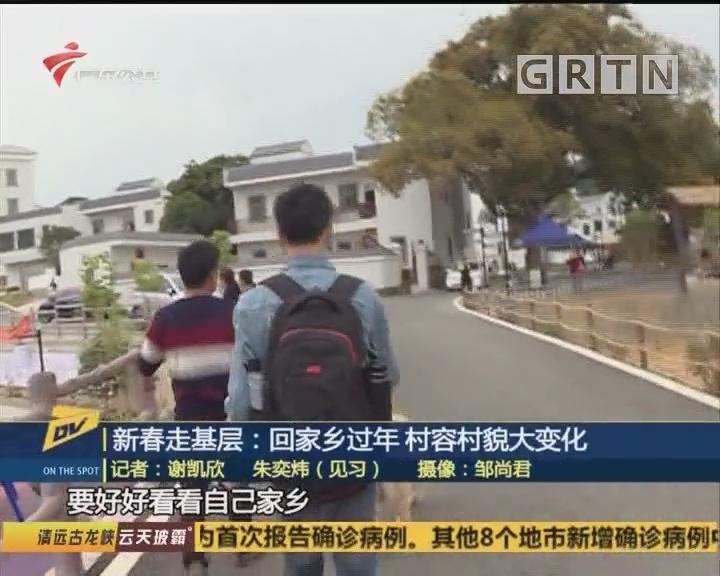 (DV現場)新春走基層:回家鄉過年 村容村貌大變化